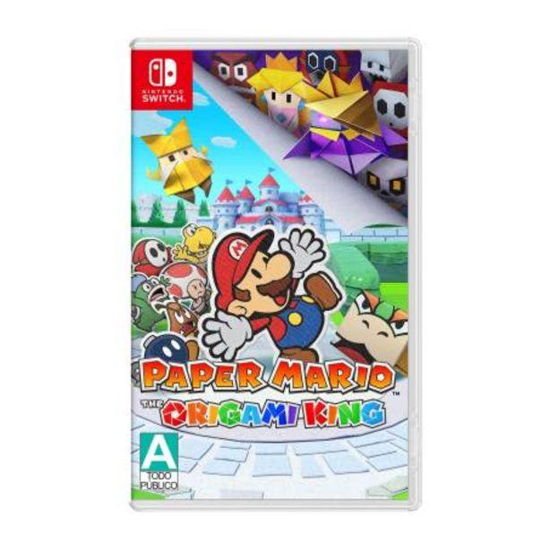 Oferta de Paper Mario The Origami King Nintendo Switch por $1124.28