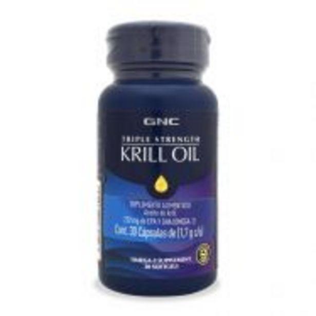 Oferta de GNC Aceite de Krill Omega - 30 Cápsulas por $929.9