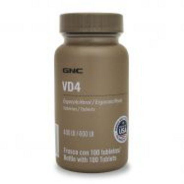 Oferta de GNC Vitamina D 400 UI - 100 Tabletas por $299.9