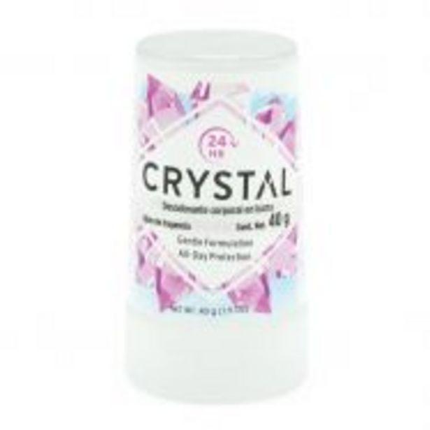 Oferta de Crystal Desodorante Corporal en Barra - 1.5 oz por $83.93