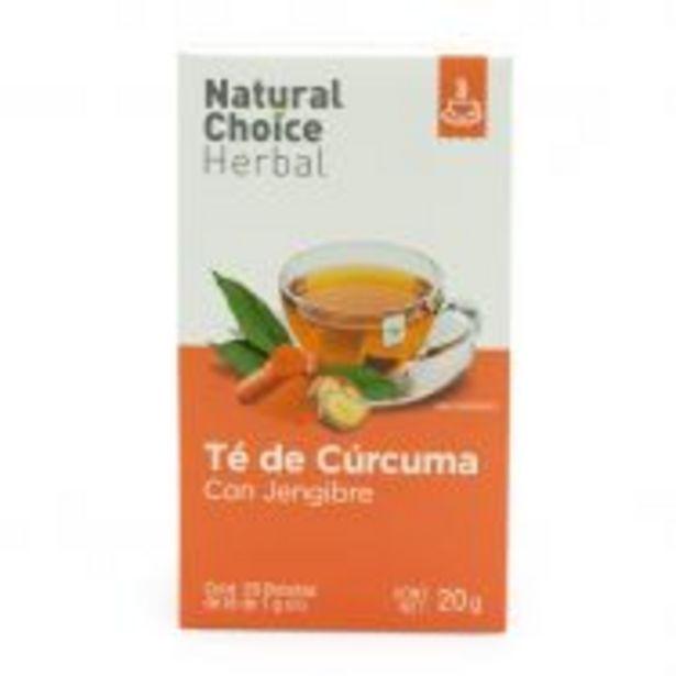 Oferta de Natural Choice Herbal Té de Cúrcuma y Jengibre - 20 Bolsitas por $99.9