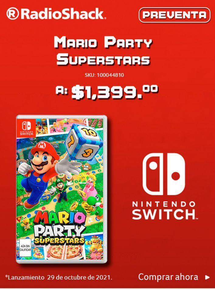 Oferta de Mario Party Superstars  por