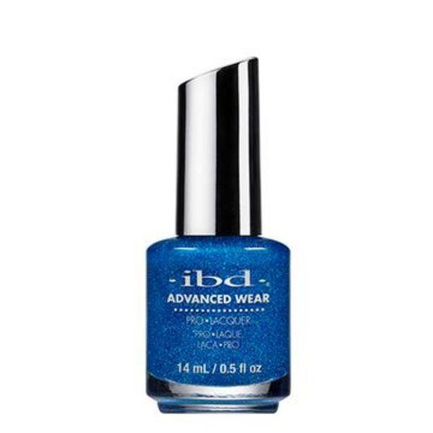 Oferta de Esmalte para uñas blazing sparking blue, advanced wear, ibd 14 ml por $54