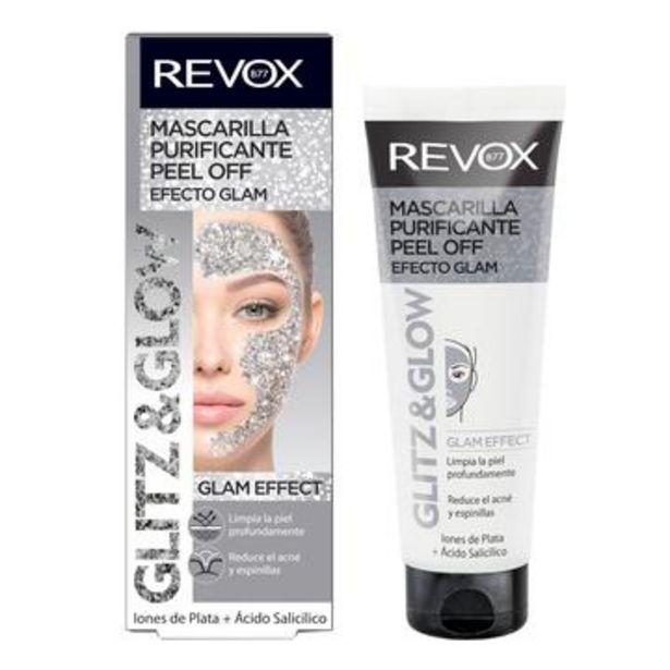 Oferta de Mascarilla facial silver glitz and glow, revox just 80 ml por $96