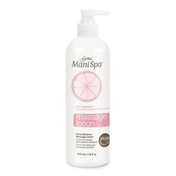 Oferta de Loción de masaje para hidratación profunda pink grapefruit, mani spa por $145