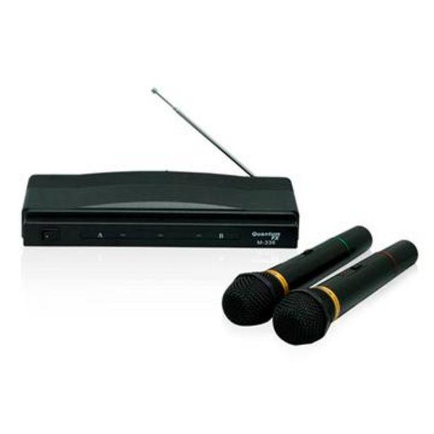 Oferta de Micrófonos inalámbricos, qfx por $659
