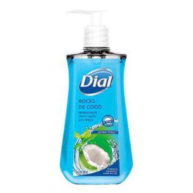 Oferta de Jabón líquido para manos agua de coco, dial 460 ml por $34