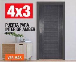 Oferta de Puerta Para Interior Amber  por