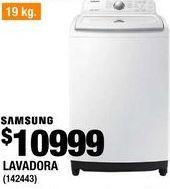 Oferta de LAVADORA SAMSUNG CARGA SUPERIOR por $10999