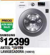 Oferta de LAVASECADORA SAMSUNG FRONT LOAD por $12399