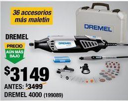 Oferta de DREMEL 4000 por $3149