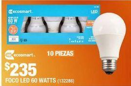 Oferta de FOCO LED A19 ECOSMART por $235