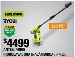 Oferta de LAVADORA ELÉCTRICA INALÁMBRICA por $4499