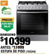 Oferta de ESTUFA DE PISO SAMSUNG por $10399