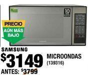Oferta de HORNO DE MICROONDAS por $3149