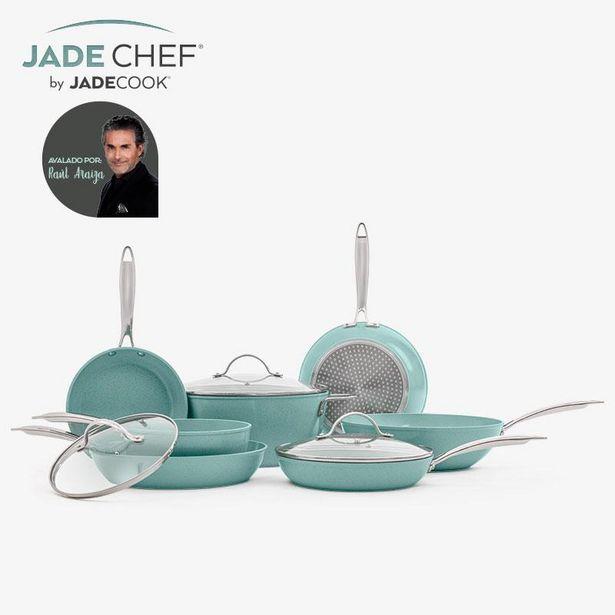 Oferta de Batería de cocina de lujo Jade Chef de Jade Cook por $5599