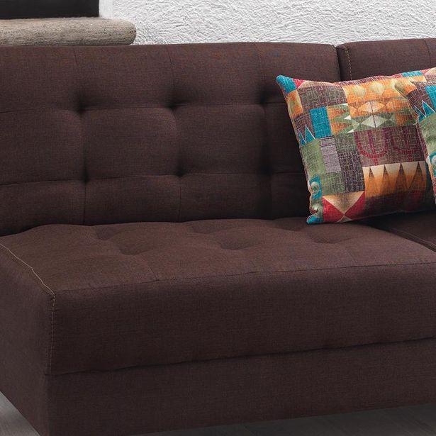 Oferta de Sofá cama Iris Chocolate por $4999