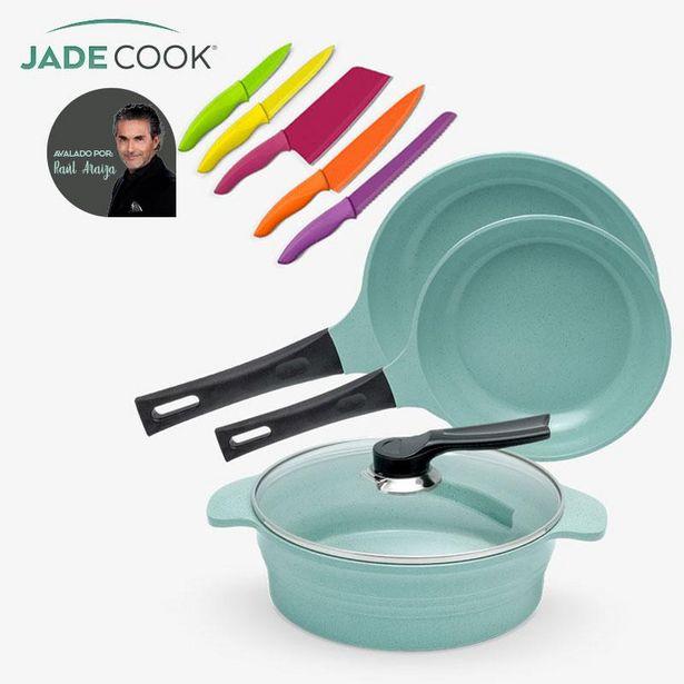 Oferta de Batería de Cocina Jade Cook | Cuchillos de REGALO por $3499