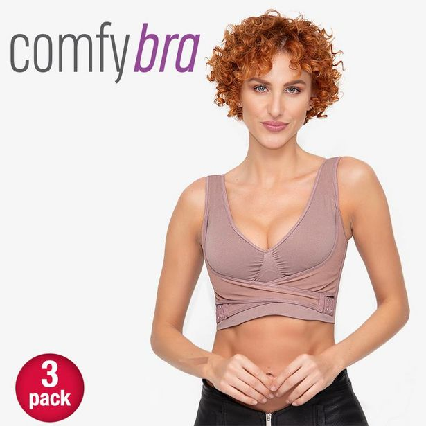 Oferta de Comfy Bra paquete de 3 piezas por $1349