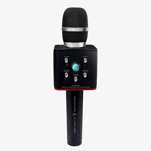 Oferta de Micrófono karaoke Kempler por $579