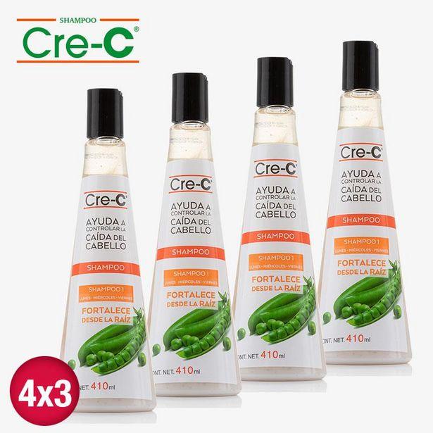 Oferta de Shampoo Cre-C Max 410ml 4x3 por $597