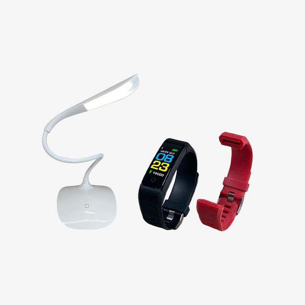 Oferta de Kit de lámpara LED y Smart Band por $799