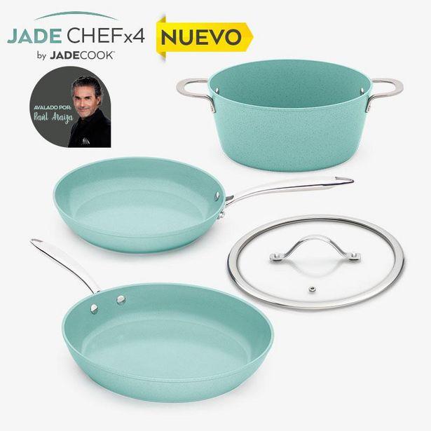 Oferta de Batería de cocina Jade Chefx4 por $3999