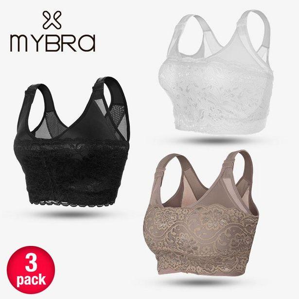 Oferta de 3 pack de brasier MyBra por $2999