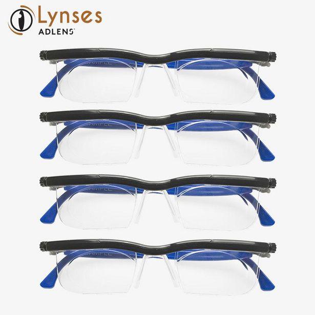 Oferta de Paquete de 4 lentes ajustables Lynses por $2999
