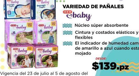 Oferta de VARIEDAD DE PAÑALES por $139