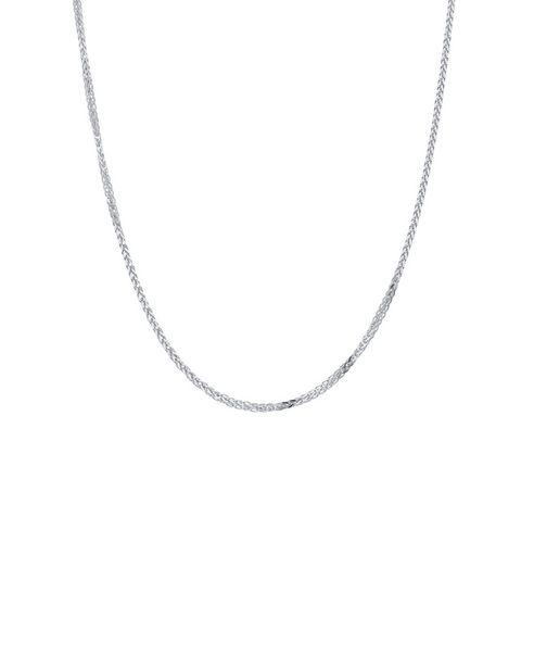 Oferta de Cadena de Oro Blanco 14K 50Cm Cal 25 por $4910.75
