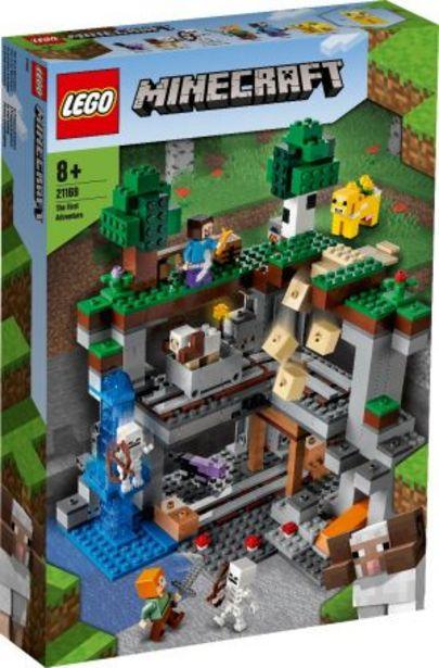 Oferta de Lego Minecraft La Primera Aventura por $1999