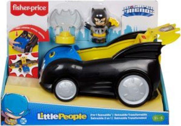 Oferta de Little People DC Super Friends Batimóvil Transformable por $575