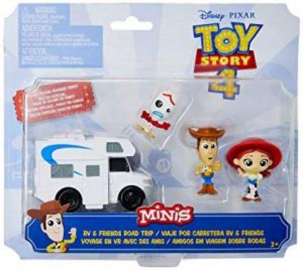 Oferta de Mini figuras pack de 5 pelicula Toy Story por $139.6