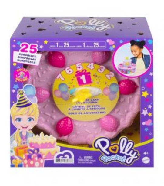 Oferta de Polly Pocket Pastel de Cumpleaños Sorpresa por $649
