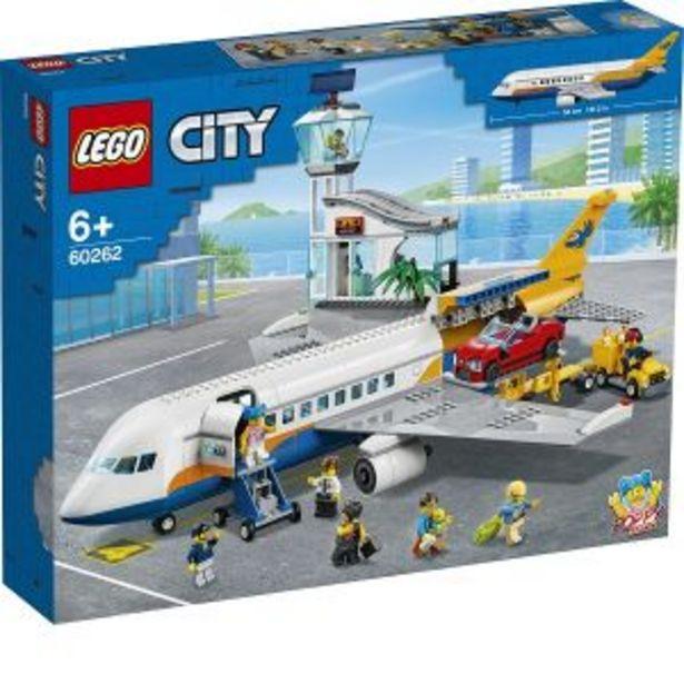 Oferta de Lego City Avion de Pasajeros por $2099