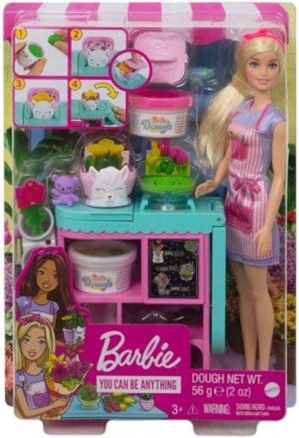 Oferta de Barbie Careers Set de Tienda de Flores por $479