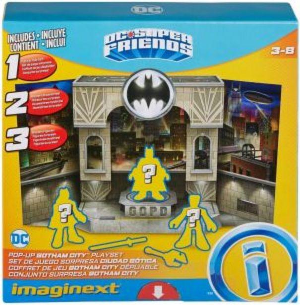 Oferta de Fisher Price Imaginext DC Super Friends Caja Secreta por $184.5