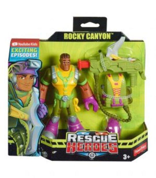 Oferta de Fisher-Price Rescue Heroes Rocky Canyon por $74.7