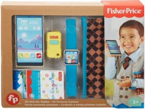 Oferta de Fisher-Price Mi primera cartera por $174.5