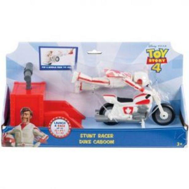 Oferta de Duke Caboom y su motocicleta Figura 4.7 pul Toy Story 4 por $249.5
