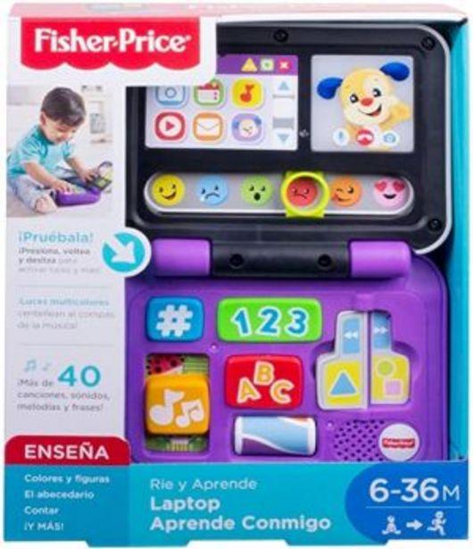 Oferta de Ríe y Aprende Laptop Aprende Conmigo - Fisher Price por $479