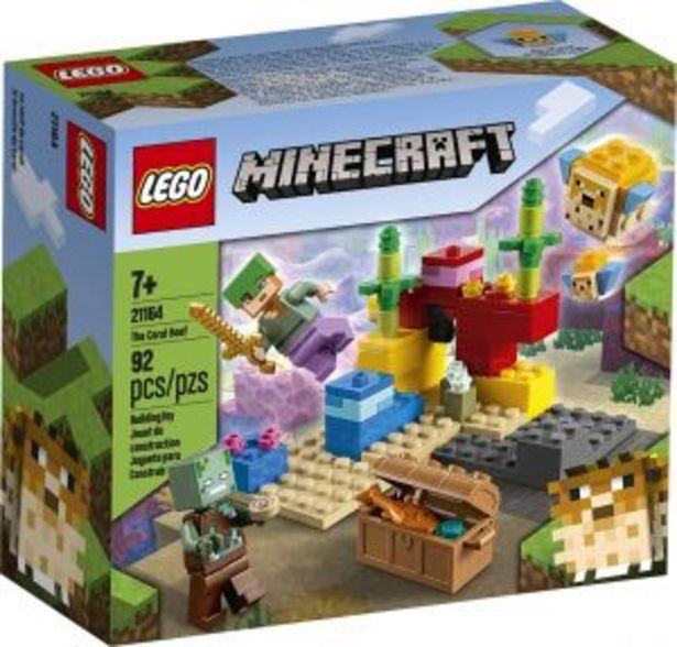 Oferta de LEGO Minecraft El Arrecife de Coral por $289