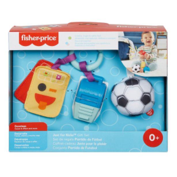 Oferta de Gift Set Futbol Fisher-Price por $269
