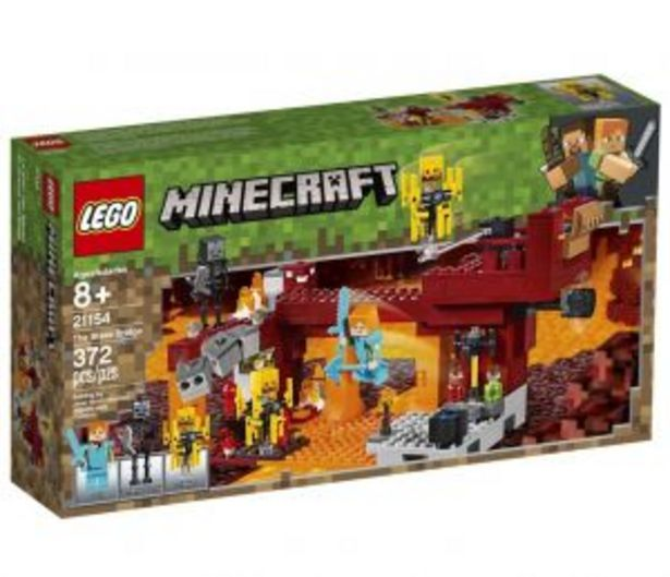 Oferta de Lego Minecraft El Puente De Blaze por $749