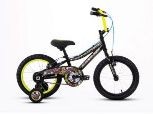 Oferta de Bicicleta Mercurio Troya R16 Negro-Amarillo 1 V por $2845