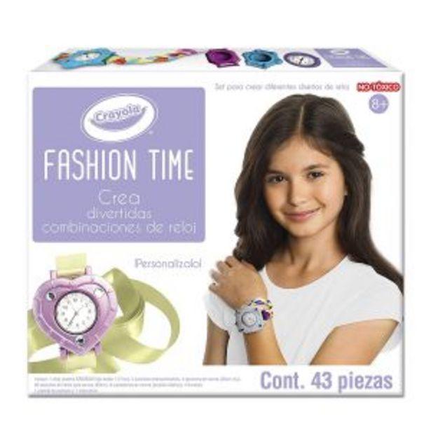 Oferta de Reloj Fashion Time Crayola por $545