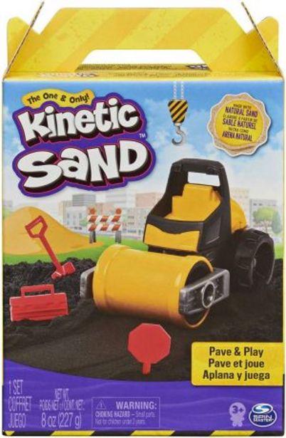 Oferta de Kinetic Sand Set de Construcción con Vehículo por $349