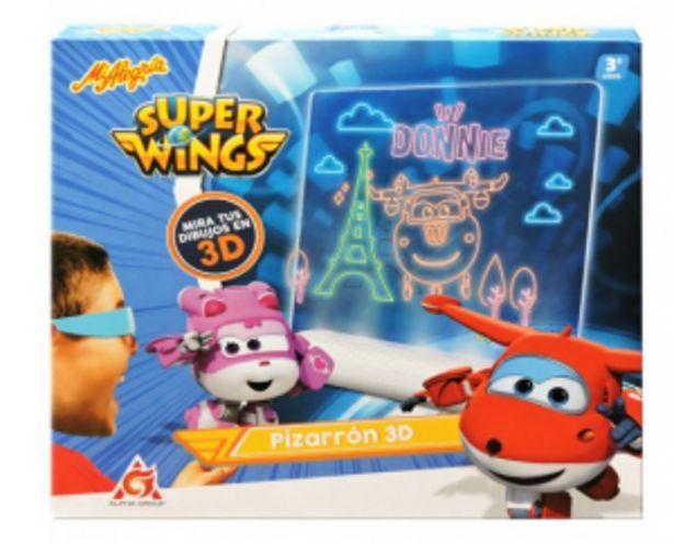 Oferta de PIZARRON 3D SUPER WING por $679