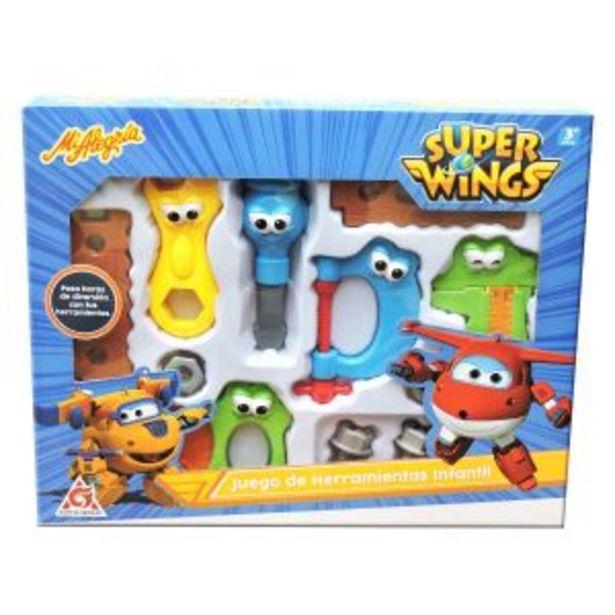 Oferta de Juego de herramientas super wings por $399
